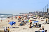 Zwemmen en naar het strand in New York, Rockaway Beach | Mooistestedentrips.nl