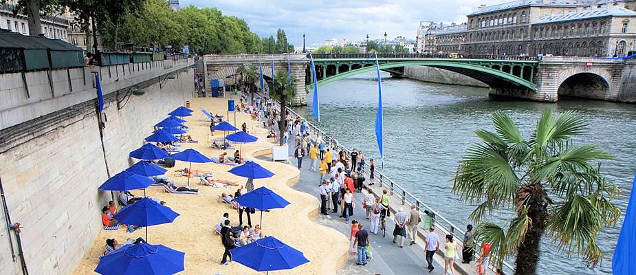 Parijs in de zomer, zomer in Parijs | Mooistestedentrips.nl