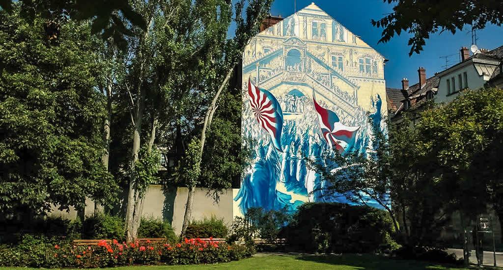 Street art in Mulhouse, Frankrijk | Mooistestedentrips.nl