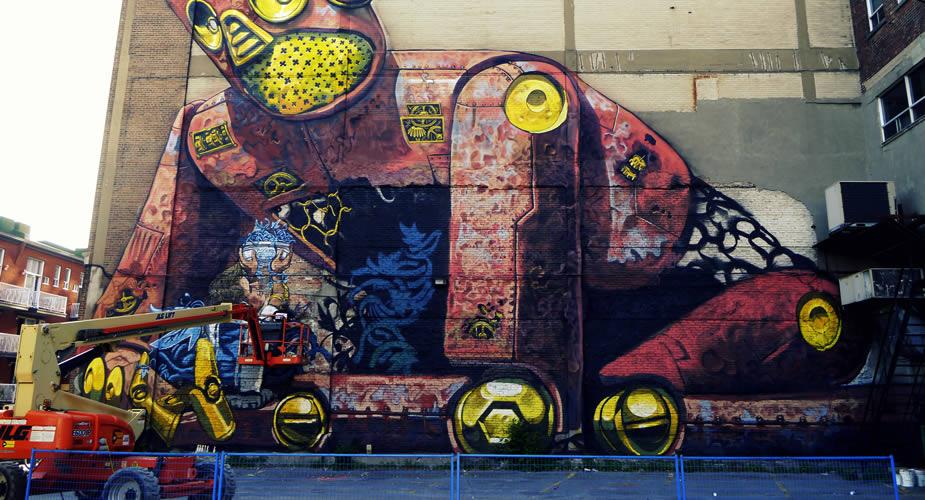 Bezienswaardigheden Turijn, street art in Turijn | Mooistestedentrips.nl