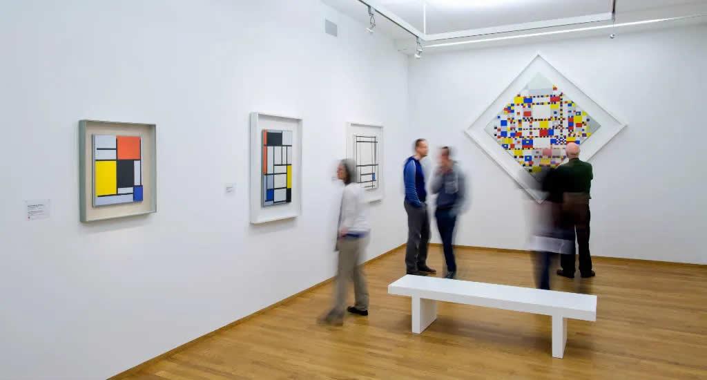 Kunstmuseum Den Haag, Victorie Boogie Woogie (Foto met dank aan Maurice Haak) | Mooistestedentrips.nl