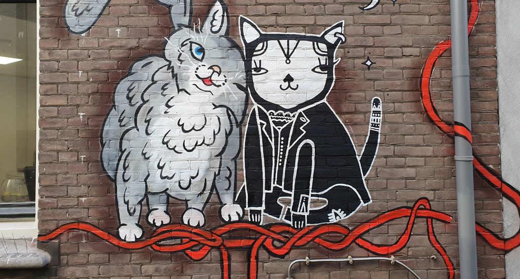 Foto met dank aan The Hague Street Art | Mooistestedentrips.nl