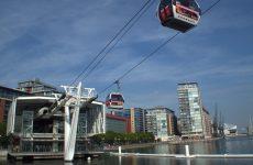 Londen: steek de Thames over met de kabelbaan | Mooistestedentrips.nl