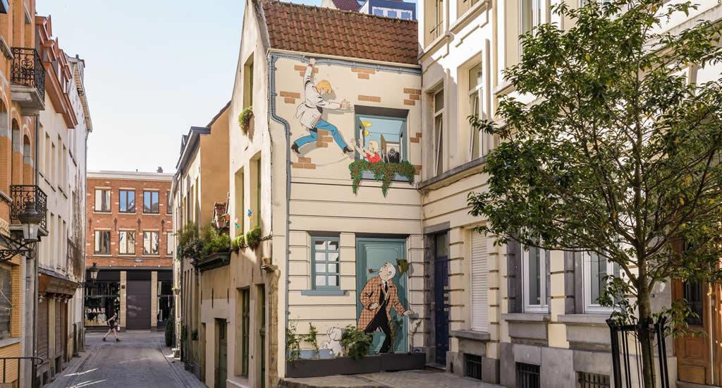 Bezienswaardigheden Brussel: de stripmuren van Brussel | Mooistestedentrips.nl