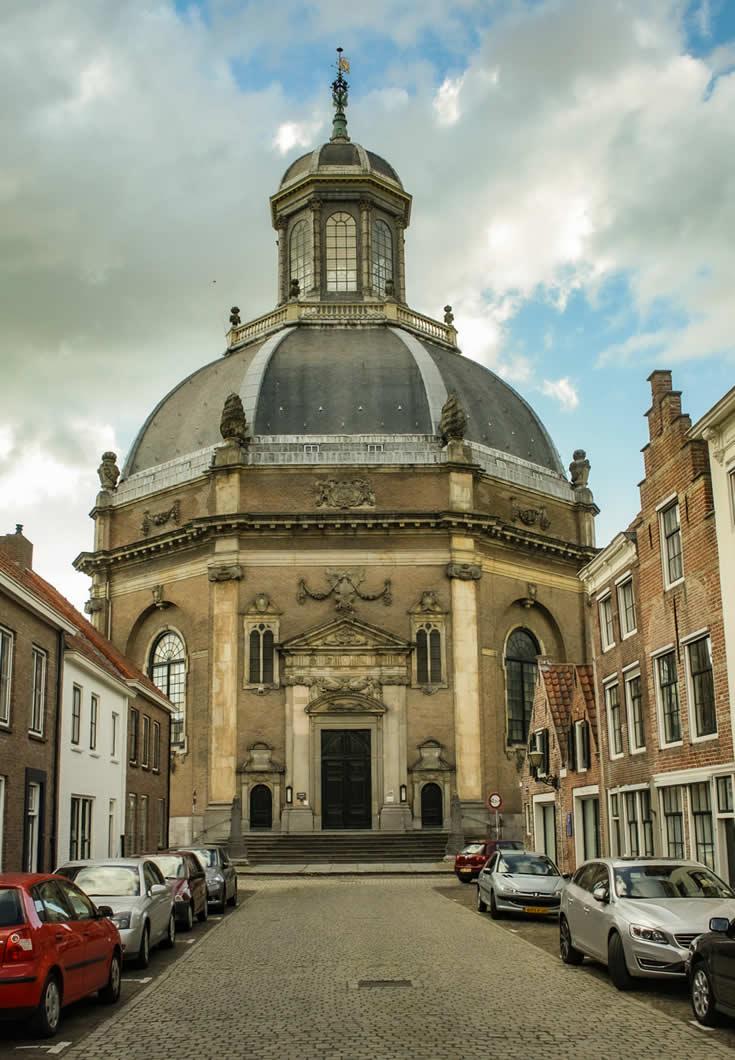 Bezienswaardigheden Middelburg: Oosterkerk   Mooistestedentrips.nl