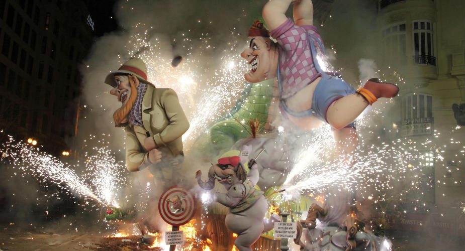Las Fallas: het werelderfgoed van Valencia | Mooistestedentrips.nl