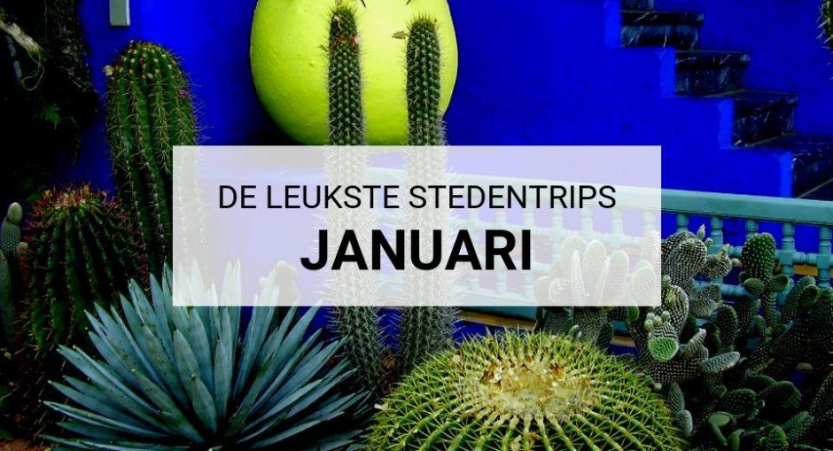 De leukste stedentrips in januari | Mooistestedentrips.nl