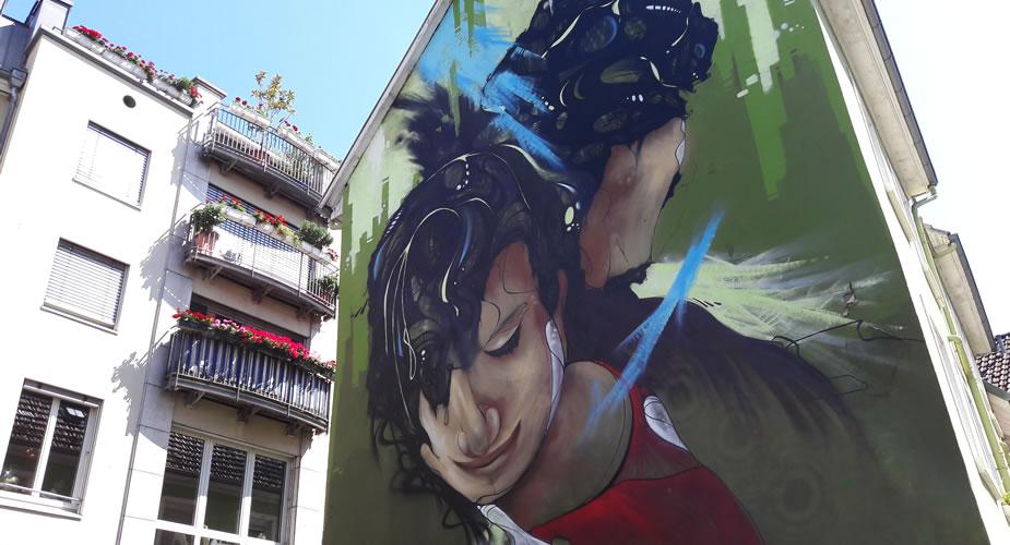 Modern Heidelberg: street art Metropolink | Mooistestedentrips.nl