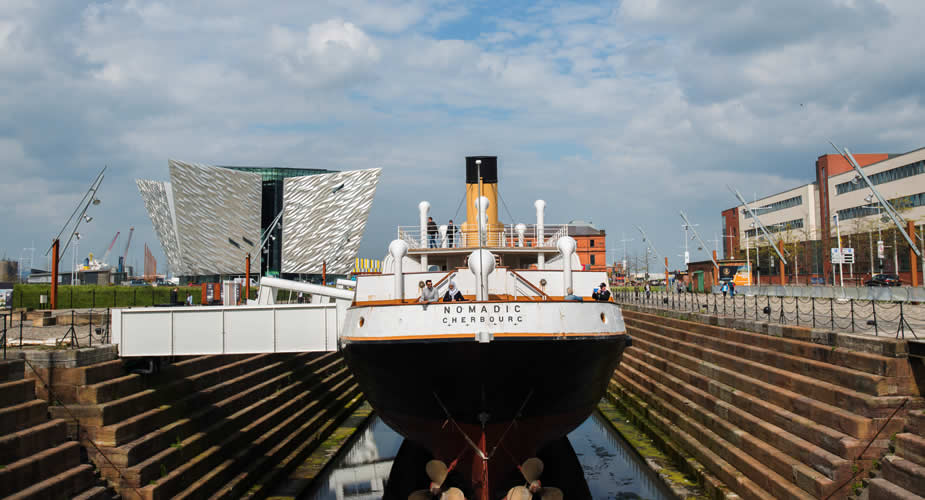 Niet missen in Belfast: Titanic Quarter (foto met dank aan Visit Belfast) | Mooistestedentrips.nl