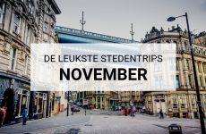 De leukste stedentrips november | Mooistestedentrips.nl)