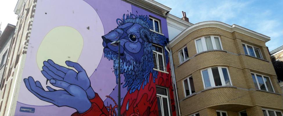 Stedentrips België: street art in België | Mooistestedentrips.nl