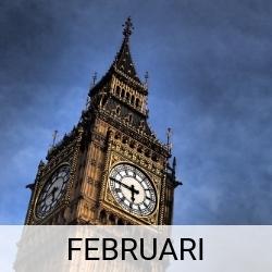 Stedentrip februari | Mooistestedentrips.nl