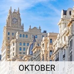 Stedentrip oktober | Mooistestedentrips.nl