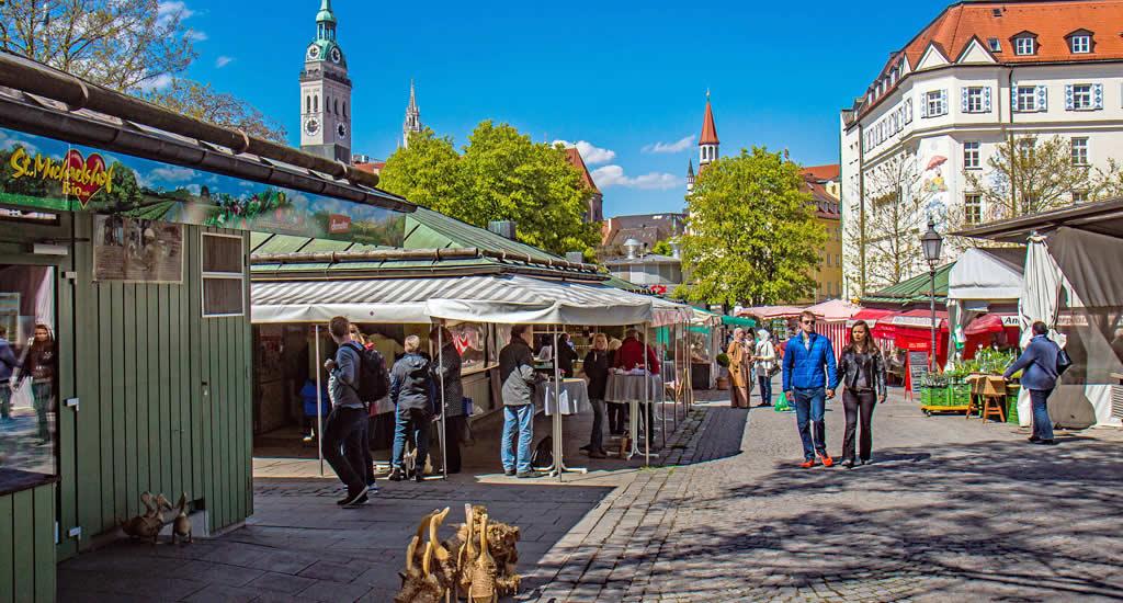Viktualienmarkt, foto Werner Boehm | Mooistestedentrips.nl