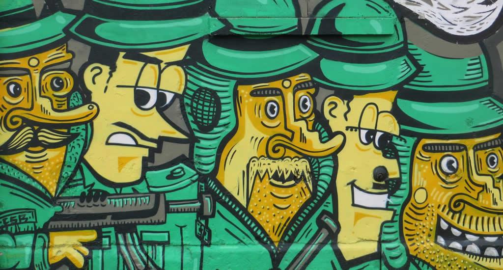 Bezienswaardigheden München, street art in München | Mooistestedentrips.nl