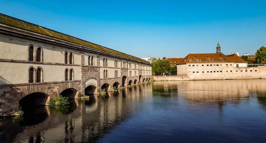 Straatsburg, Frankrijk: Barrage Vauban | Mooistestedentrips.nl