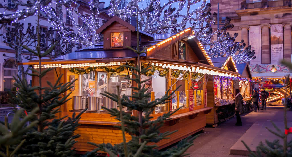 Kerstmarkt in Straatsburg, Frankrijk | Mooistestedentrips.nl