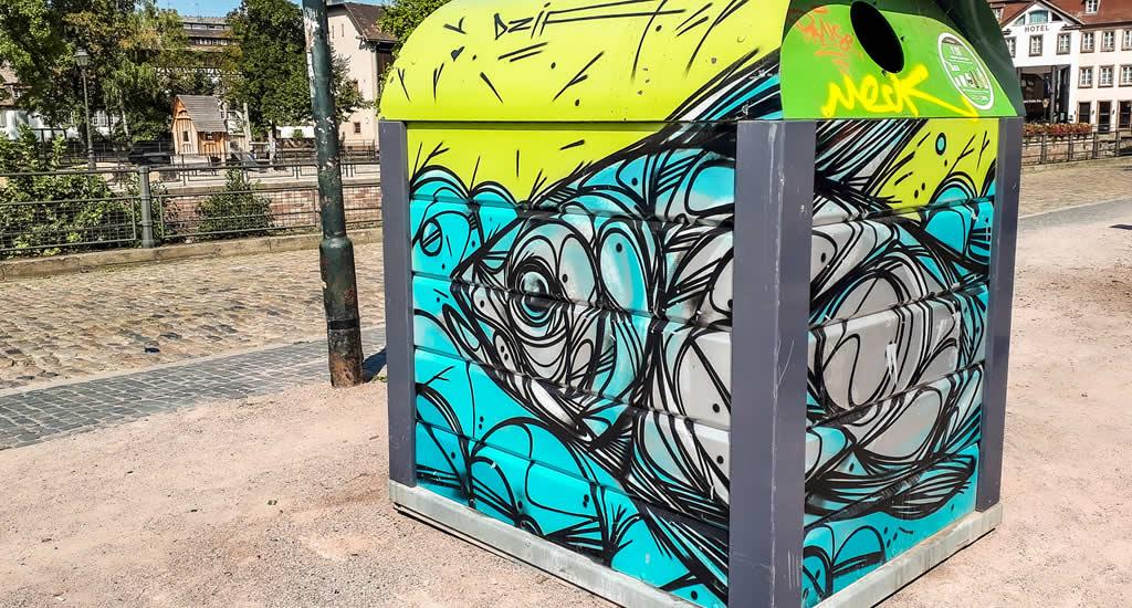 Bezienswaardigheden Straatsburg, Frankrijk | Street art in Straatsburg