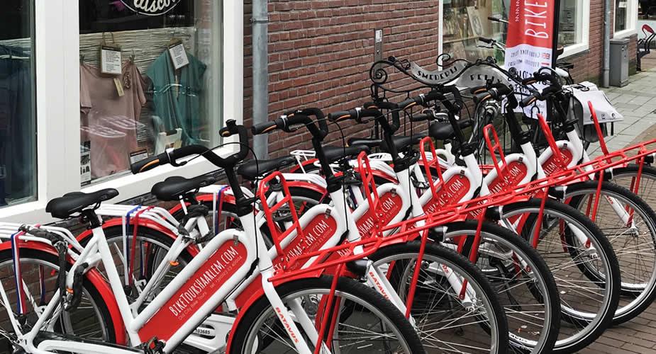 Fietsen in Haarlem | Mooistestedentrips.nl