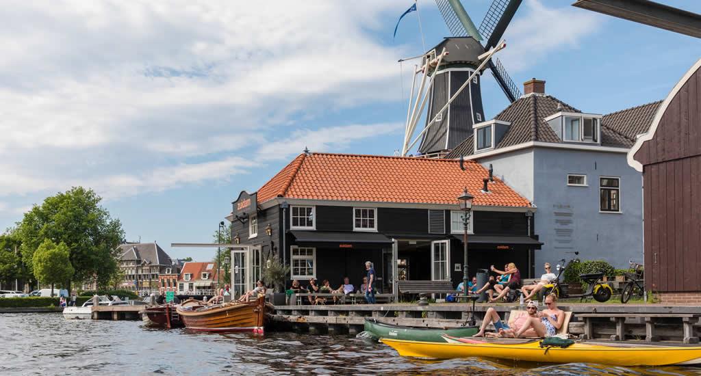 Rondvaart Haarlem of een sloepje huren in Haarlem | Mooistestedentrips.nl