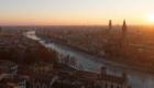 Zonsondergang in Verona, Italië | Mooistestedentrips.nl