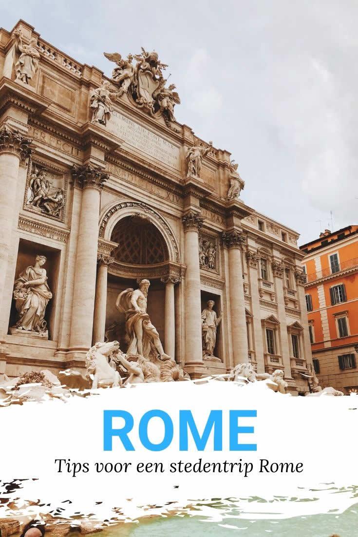 11 tips Rome | 11 praktische tips voor een stedentrip Rome | Mooistestedentrips.nl