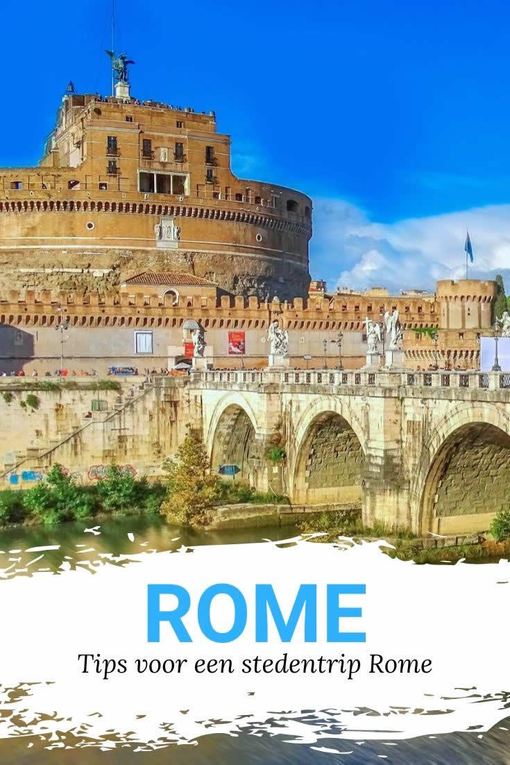 Tips Rome | 11 handige tips voor een stedentrip Rome | Mooistestedentrips.nl
