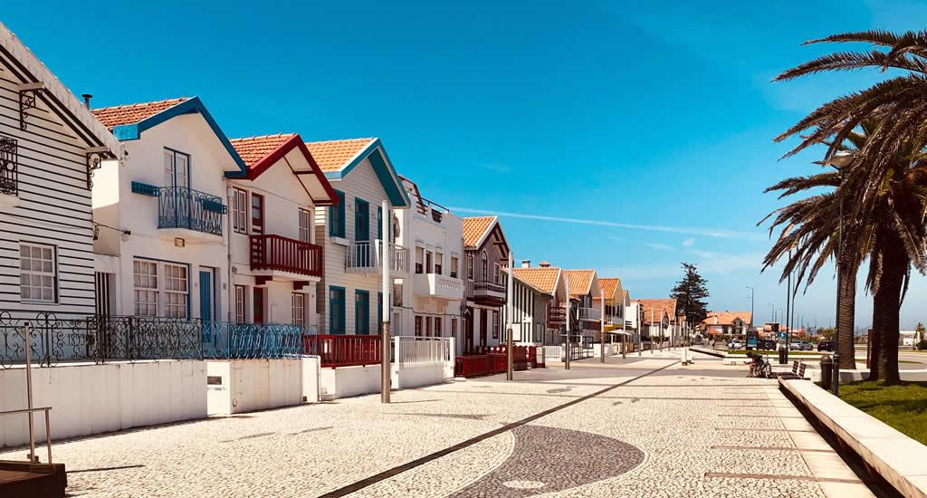 Aveiro, Portugal | Costa Nova in Aveiro, Portugal