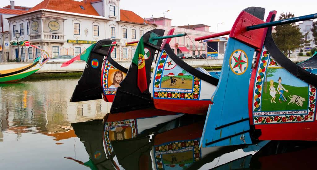 Aveiro, Portugal | Bezienswaardigheden Aveiro: mocileiros