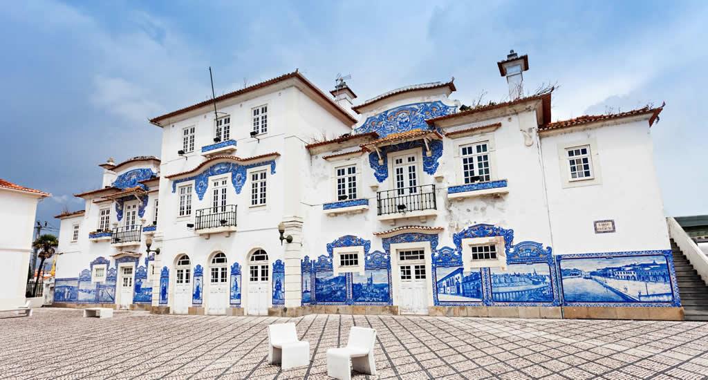 Aveiro, Portugal | Bezienswaardigheden: het station van Aveiro