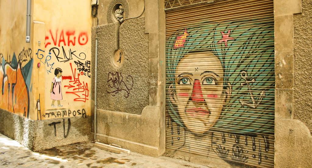 Street art in Palma de Mallorca | Mooistestedentrips.nl