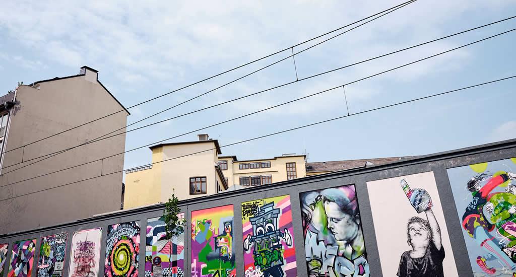 Street art in Düsseldorf | Mooistestedentrips.nl