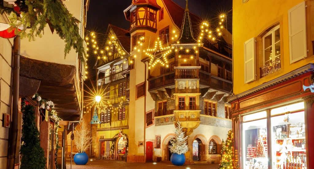 Kerstmarkt in Colmar, Frankrijk | Mooistestedentrips.nl