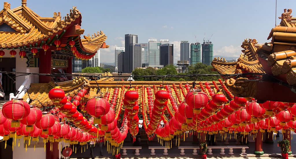Bezienswaardigheden Kuala Lumpur, Thean Hou Temple | Mooistestedentrips.nl