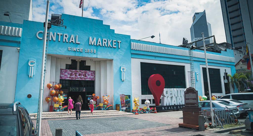 Bezienswaardigheden Kuala Lumpur, Centrale Market | Mooistestedentrips.nl