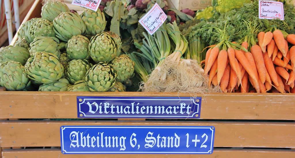 Stedentrip München. Tips voor een stedentrip München, bezoek de Viktualienmarkt | Mooistestedentrips.nl
