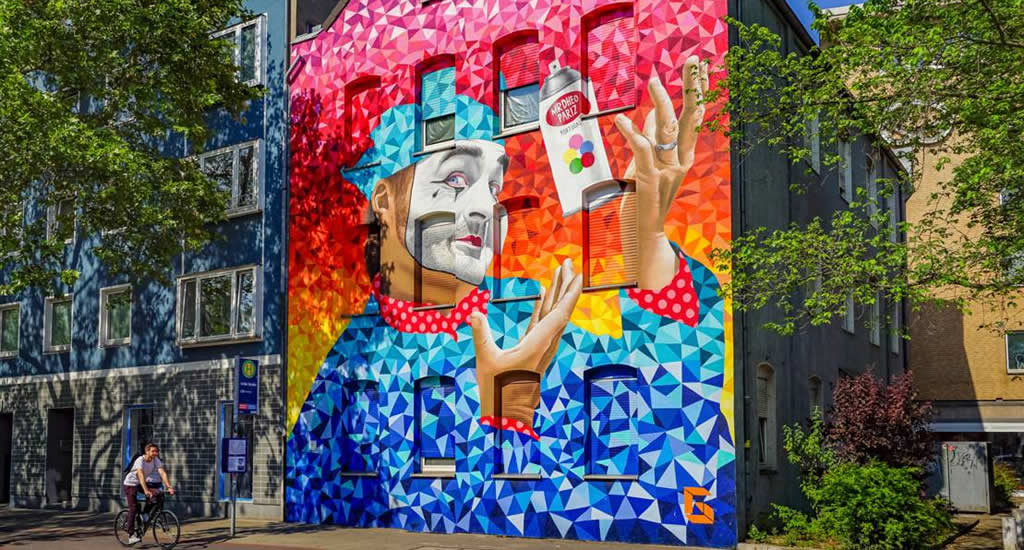 Street art Hannover, Celle Straße (foto: HMTG/FalkHeise)   Mooistestedentrips.nl