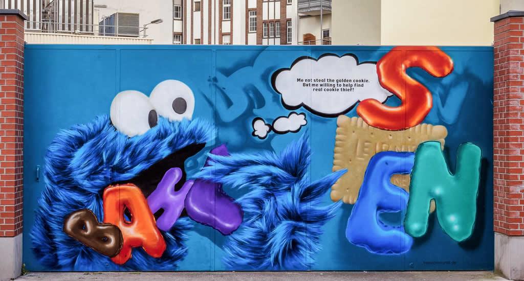 Street art Hannover (foto: HMTG/FalkHeise)   Mooistestedentrips.nl