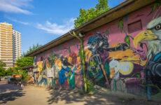 Street art Hannover, Duitsland (Street art in Hannover   Mooistestedetrips.nl (foto: HMTG/FalkHeise))   Mooistestedentrips.nl