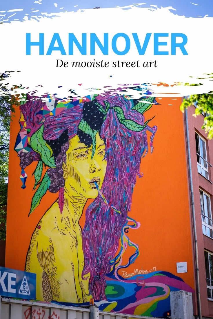 Street art Hannover (foto door HMTG en Falk Heise)   Mooistestedentrips.nl