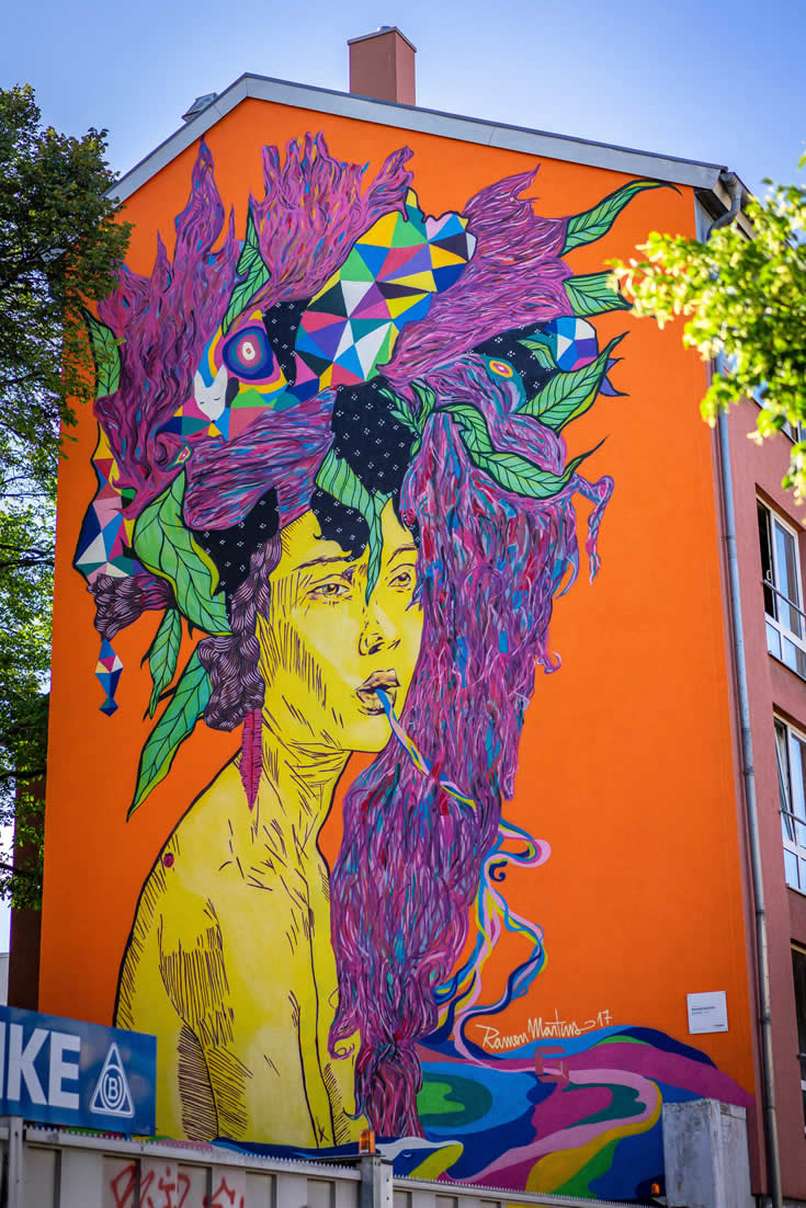 Street art Hannover (foto door HMTG en Falk Heise) | Mooistestedentrips.nl