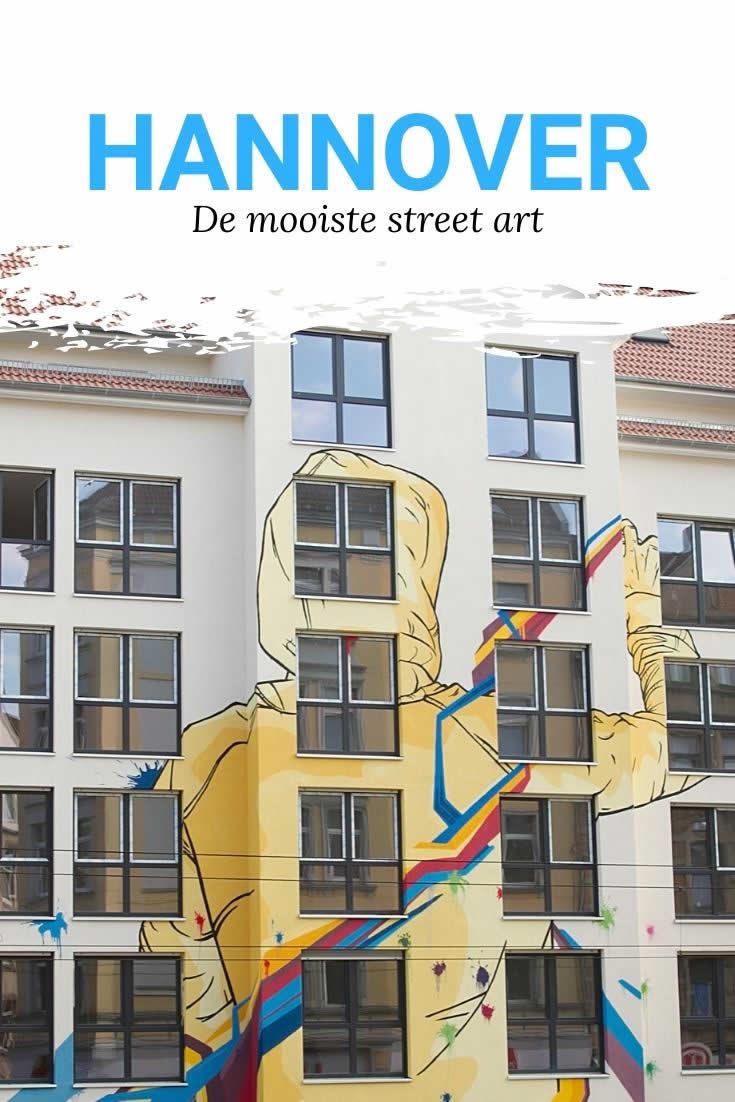 Street art in Hannover | Mooistestedetrips.nl