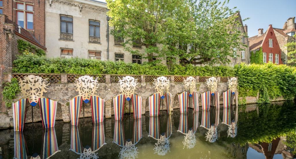 Zomer in Brugge, Triënnale Brugge (foto met dank aan Jan Darthet) | Mooistestedentrips.nl