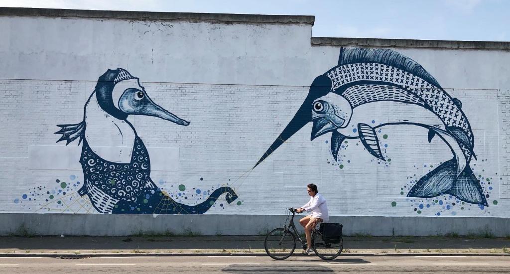 Street art in Brugge (foto met dank aan Stad Brugge) | Mooistestedentrips.nl