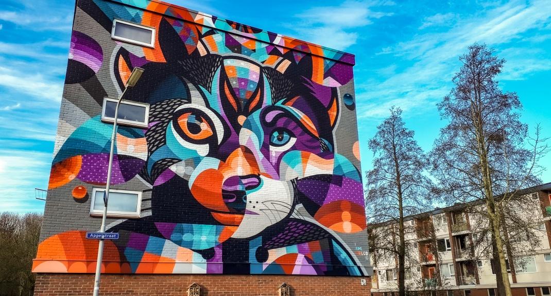 Street art in Goes | Mooistestedentrips.nl