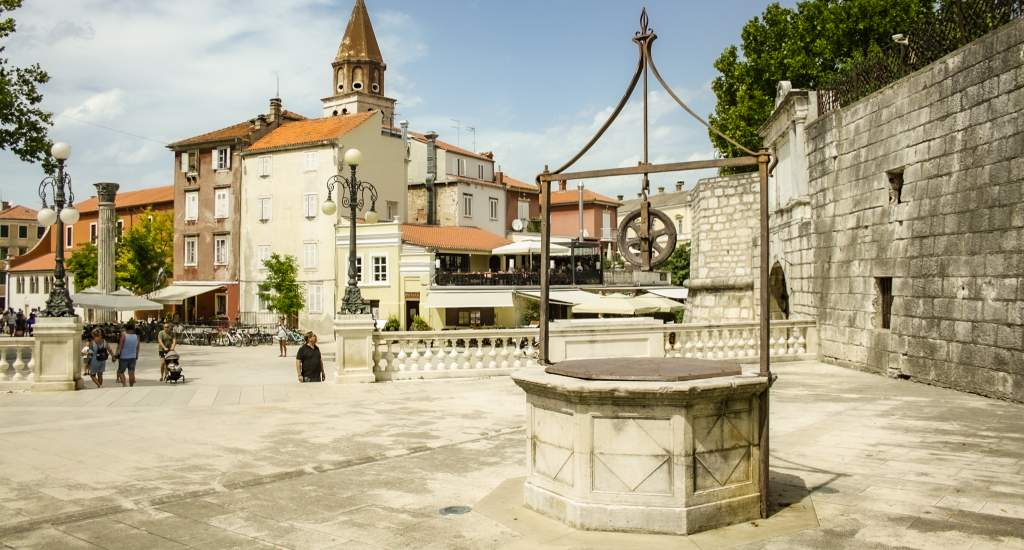 Bezienswaardigheden Zadar, Trg 5 bunara   Mooistestedentrips.nl