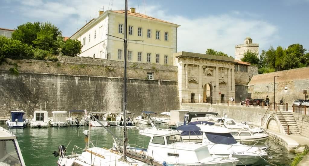 Bezienswaardigheden Zadar, stadspoort van Zadar   Mooistestedentrips.nl