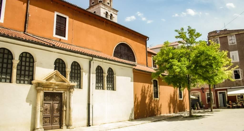 Bezienswaardigheden Zadar, St. Simeons kerk   Mooistestedentrips.nl