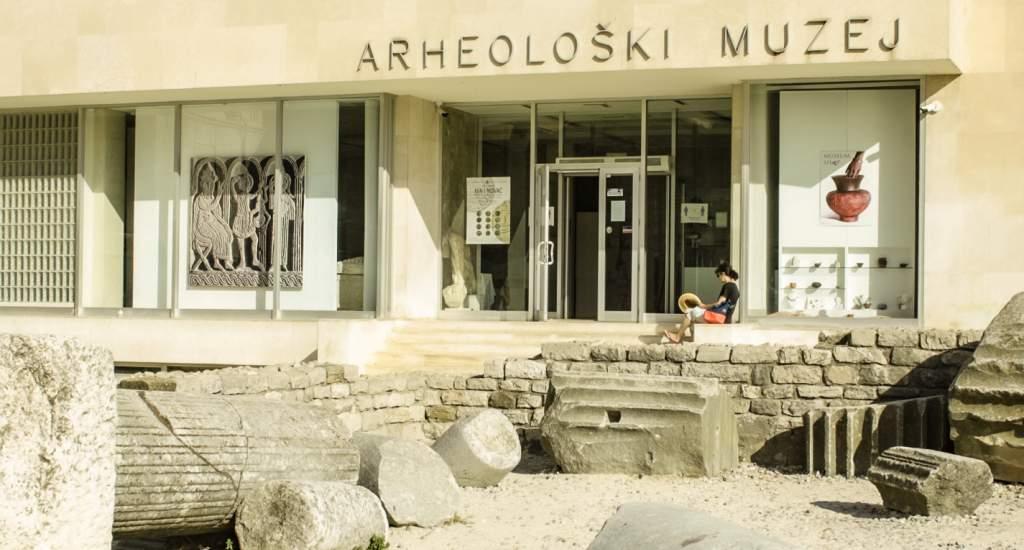 Bezienswaardigheden Zadar: Archeologisch Museum   Mooistestedentrips.nl