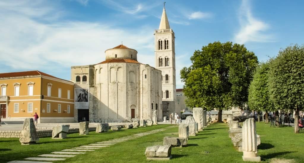 Bezienswaardigheden Zadar: Romeins forum | Mooistestedentrips.nl